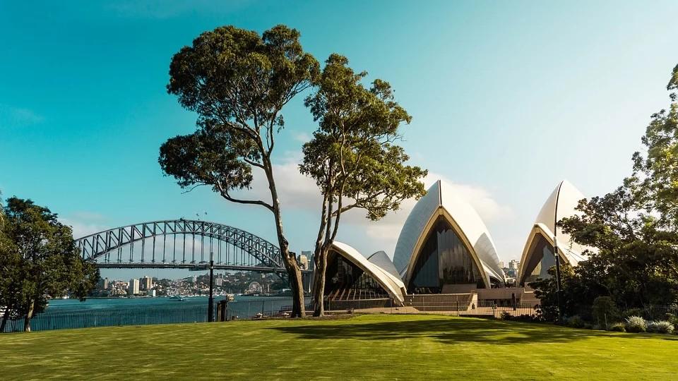 澳大利亚悉尼港,很漂亮.jpg